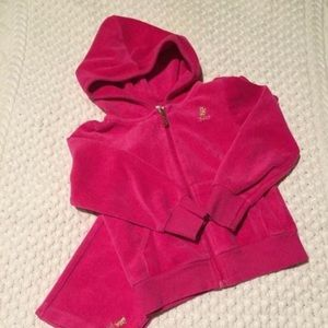 Juicy Couture velour sweatsuit💖